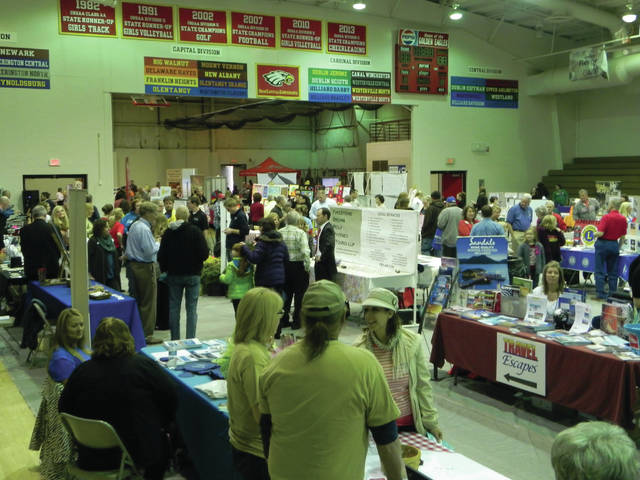 The scene at a past Business Expo.