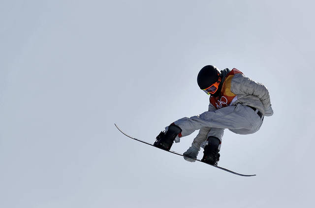 Women's big air medals awarded in PyeongChang