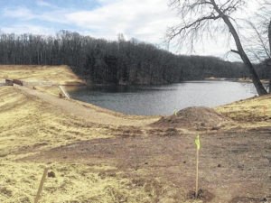 State park dam project continues