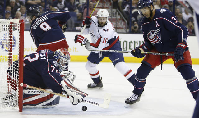 Stanley Cup Playoffs: Capitals eliminate Blue Jackets