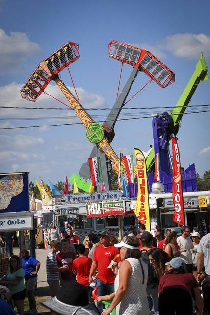 The weather forecast for the week has been favorable and the 2017 Delaware County Fair has welcomed large crowds everyday.
