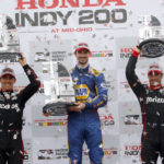 Alexander Rossi runs away with IndyCar race at Mid-Ohio